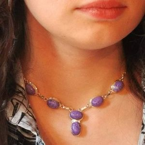 Siberian Charoite Necklace